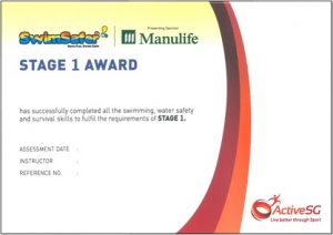 Stage 1 Award