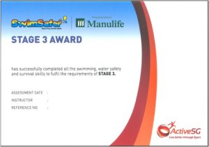 Stage 3 Award